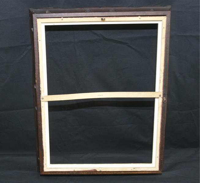 Cornice di legno segnando il lavoro foto specchio stile for Specchio stile antico