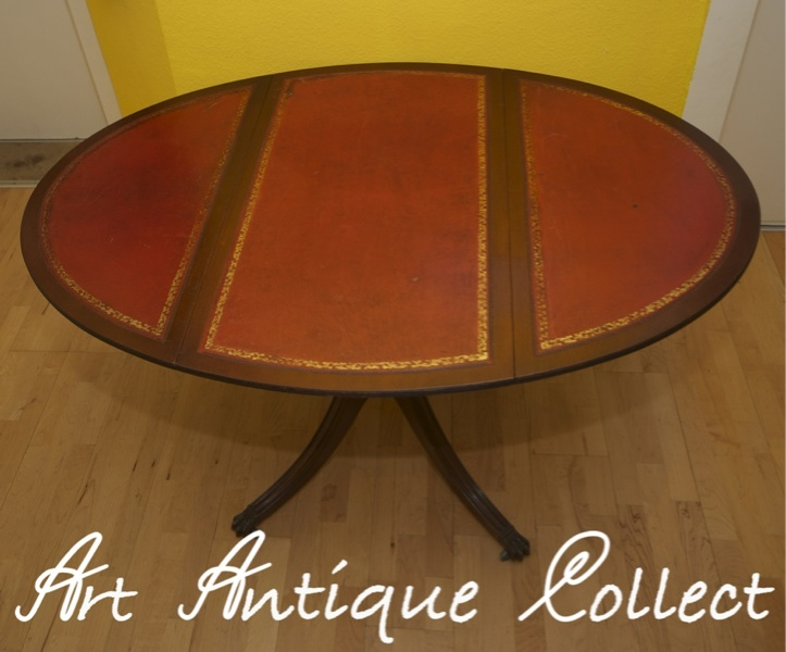 Spieltisch beistelltisch klapptisch antik tisch rollbar ebay for Beistelltisch rollbar